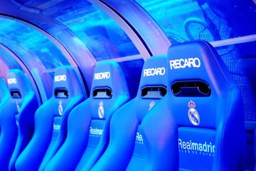 Asientos estadio Santiago Bernabeu