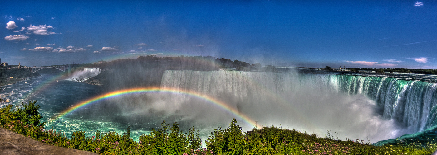 Cataratas del Niagara panorámica