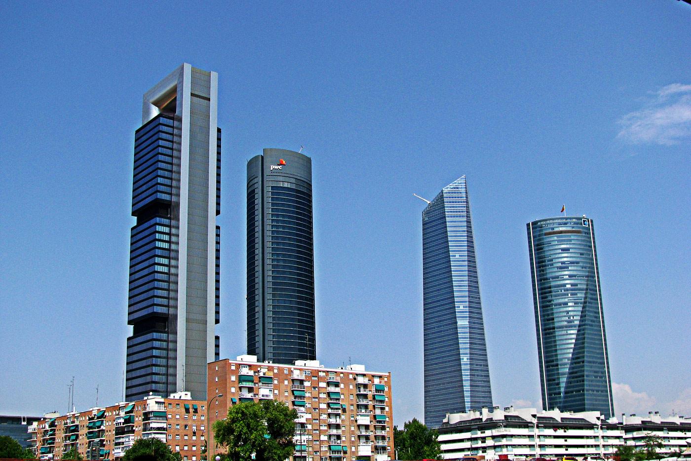 Cuatro Torres Madrid. Rubén Vique