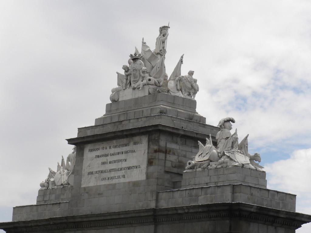 Detalle Puerta Toledo de Madrid
