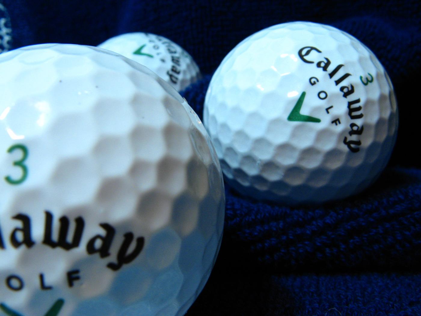 Números bolas golf