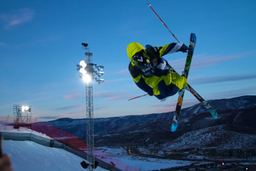 salto esqui x games