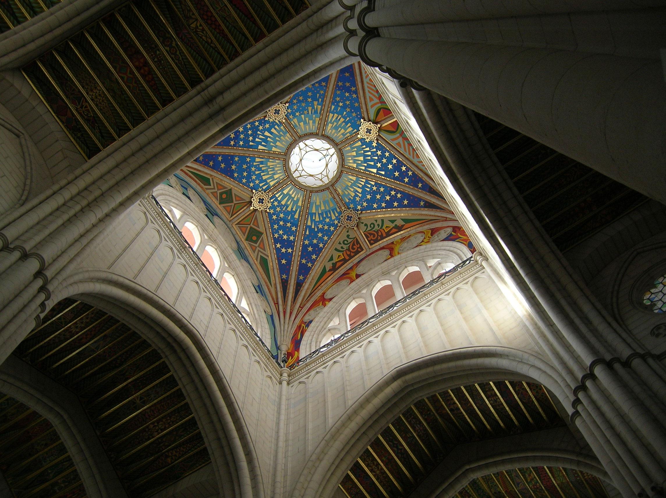 Techo catedral Almudena
