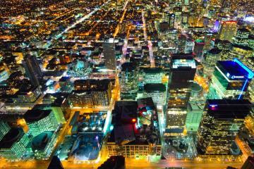 Toronto Downtown desde torre CN