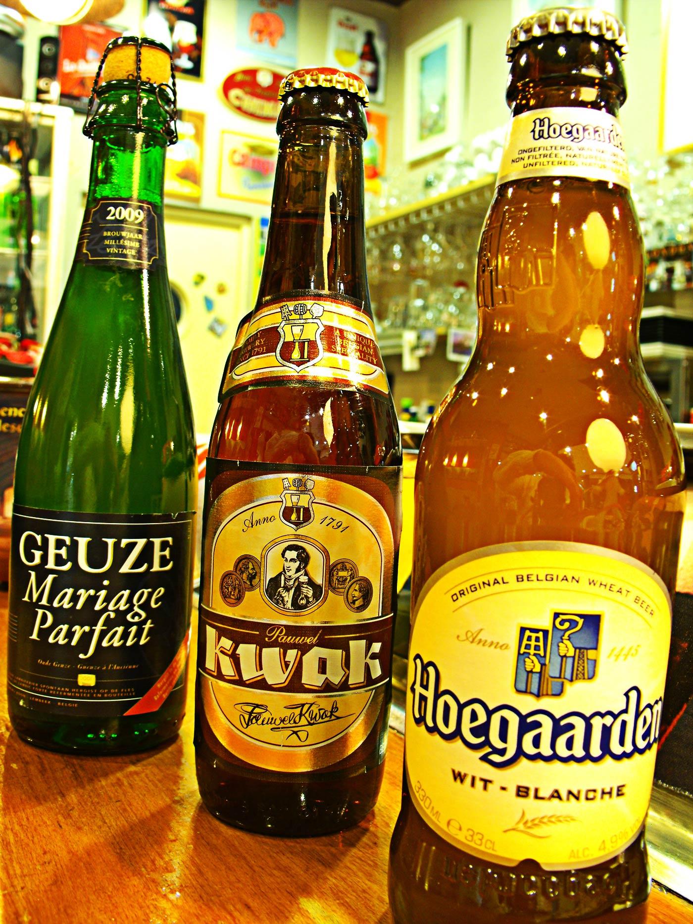 Cervezas Belgas  Restaurante Belga OP11 Madrid