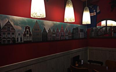 Interior Restaurante Belga OP11 Madrid