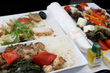 Comida Turkish Airlines
