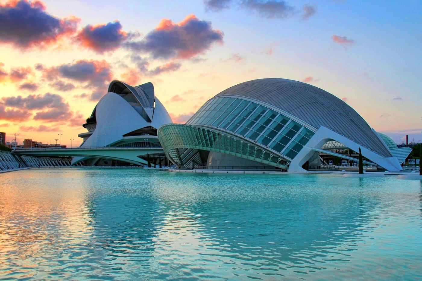 Ciudad Artes Ciencias Valencia
