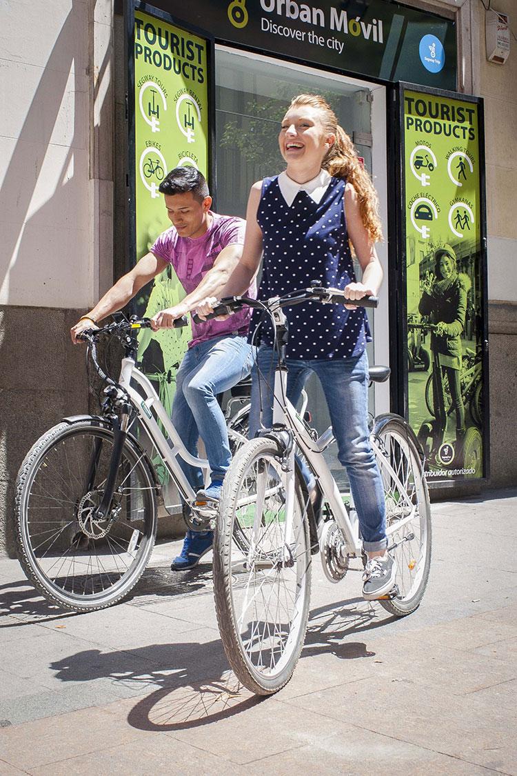 bicicletas alquiler madrid