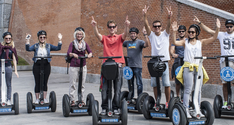 segway madrid tours