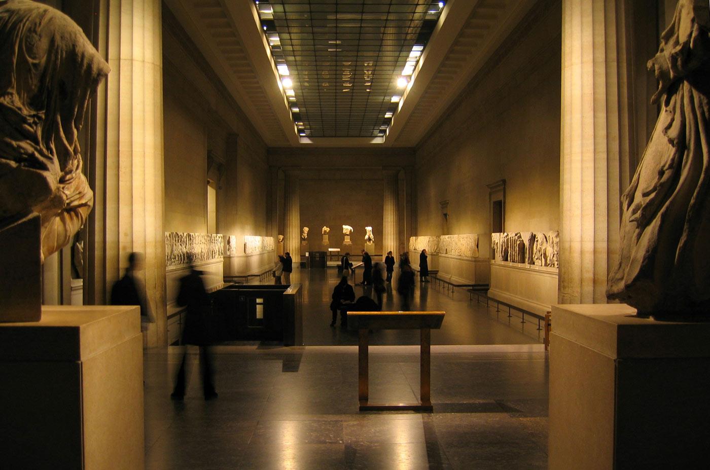 museo britanico partenon marbles