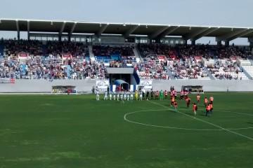 Partido entre el Bilbao Athletic y el Leganés