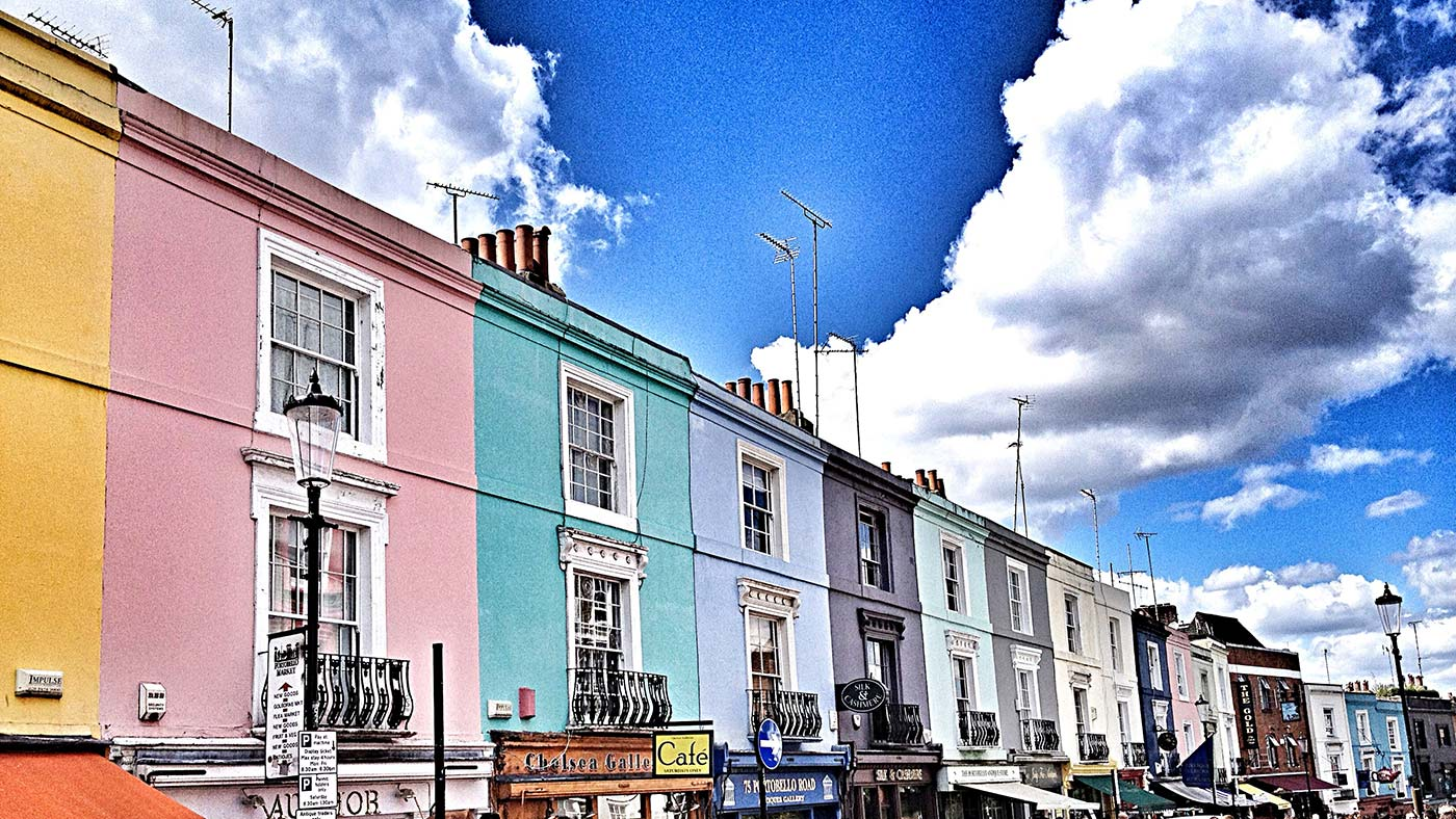 casas portobello road London