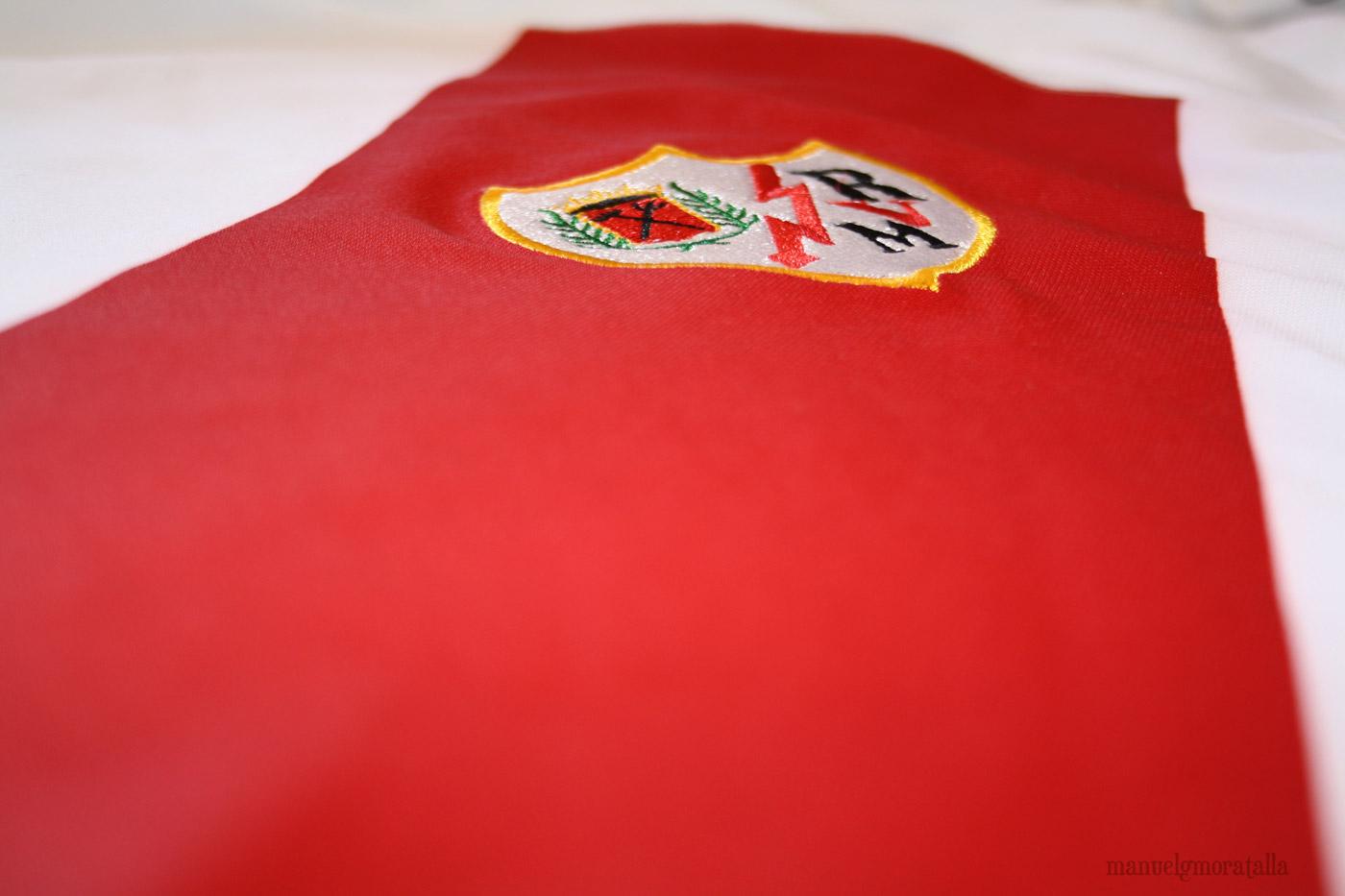franja roja Rayo Vallecano