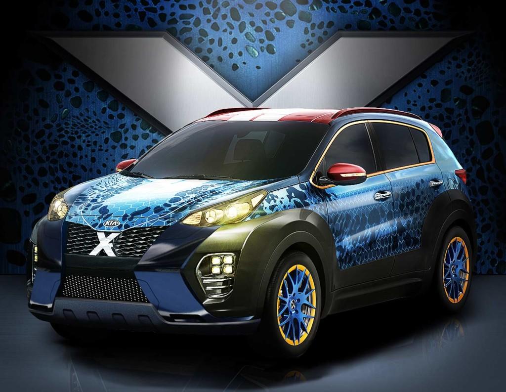 Kia X Car